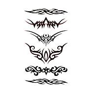 #(5) Tatoveringsklistremerker Andre Mønster VanntettDame Jente Tenåring Flash-tatovering midlertidige Tatoveringer