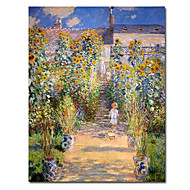 Hand-Painted Famous Landscape Vertical One Panel Canvas Oil Painting For Home Decoration