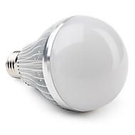 billige Globepærer med LED-12 W 3000 lm E26 / E27 LED-globepærer A80 12 LED perler Høyeffekts-LED Varm hvit 85-265 V
