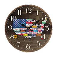 cheap -American Country Wall Clock