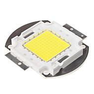 DIY 100w 8000-9000lm 6000-6500k 자연 하얀 빛 통합 LED 모듈 (33-35v)