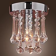billige Takbelysning og vifter-Takplafond Omgivelseslys - Krystall Mini Stil, Moderne / Nutidig, 110-120V 220-240V Pære ikke Inkludert