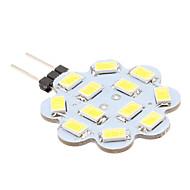 1.5w g4 ledet to-pin lys 12 smd 5630 150-200lm naturlig hvit 6000k dc 12v