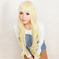 คอสเพลย์ Tsumugi Kotobuki สำหรับผู้หญิง 32 inch ไฟเบอร์ทนความร้อน การ์ตูนอานิเมะ วิกส์คอร์สเพลย์