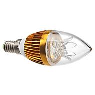 3w e14 led 촛불 조명 c35 3 높은 전원 led 300-350lm 따뜻한 흰색 3000k 장식 dimmable ac 220-240v