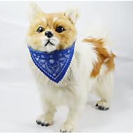 犬用 トーテム 調節可 首輪 バンダナカラー(多色)
