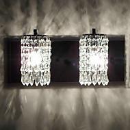 baratos Arandelas de Parede-QINGMING® Moderno / Contemporâneo Luminárias de parede Metal Luz de parede 110-120V / 220-240V Max 60W