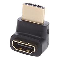 Conector /Extensão 90 Graus HDMI V1.4M/F