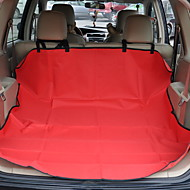Cat Dog Car Seat Cover Pet Mats & Pads Waterproof Foldable Black Gray Red Blue For Pets