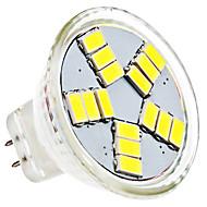 1.5W 6000 lm GU4(MR11) LED reflektori MR11 15 LED diode SMD 5630 Prirodno bijelo AC 12V