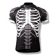 SPAKCT Muškarci Kratkih rukava Biciklistička majica Lubanje Bicikl Biciklistička majica, Quick dry, Prozračnost