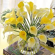 billige Blomster & Planter-Kunstige blomster 24 Afdeling Moderne Stil Calla-lilje Bordblomst