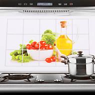 Høy kvalitet Kjøkken Olje Sikker KlistremerkerAluminium