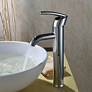 cheap Sprinkle® Faucets-Countertop  with  Chrome Single Handle One Hole  for Centerset