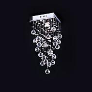 billige Taklamper-Takplafond Omgivelseslys galvanisert Metall Krystall 110-120V / 220-240V Pære ikke Inkludert / GU10