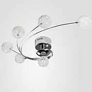 abordables Luces de Techo y Ventiladores-LWD 6-luz Montage de Flujo Luz Downlight - Cristal, 110-120V / 220-240V Bombilla incluida / G4 / 20-30㎡