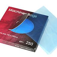 10pcs / lot חד פעמי קעקועים מכונת שקיות בצבע כחול שקית מכונת קעקוע