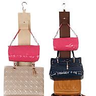 4 תיקים תיק hangup חד צדדי ארנק מארגן בגדים& אחסון בארון