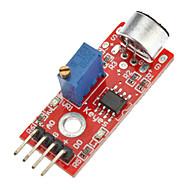 módulo sensor de detecção de som de alta qualidade (para arduino) microfone