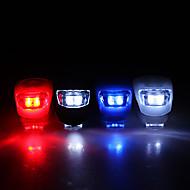 billige Sykkellykter og reflekser-Sykkellykter sikkerhet lys Frontlys til sykkel LED Sykling CR2032 Lumens Batteri Sykling