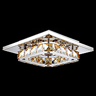 Flush Mount ,  Modern/Contemporary Electroplated Feature for LED Metal Bedroom Dining Room Hallway