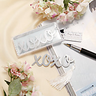Stainless Steel Bookmarks & Letter Openers Classic Theme Wedding Favors