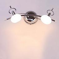 tanie Oświetlenie lustra-Nowoczesny / współczesny Oświetlenie łazienkowe Metal Światło ścienne IP20 110-120V / 220-240V Max 20W / G4