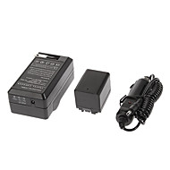 BP-727 2685mAh camcorder batterij met auto-oplader voor Canon Vixia HF M50, Vixia HF M500