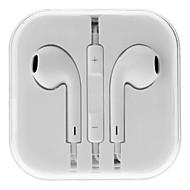 ακουστικών 3,5 χιλιοστών στο αυτί ελέγχου στερεοφωνικό όγκο με μικρόφωνο για iPhone 6 / iPhone 6 συν