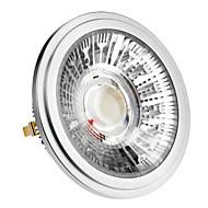 billige Spotlys med LED-1pc 10 W 420-450 lm G53 LED-spotpærer 1 LED perler COB Varm hvit / Kjølig hvit / Naturlig hvit 85-265 V