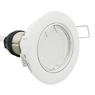 GU10 LED-spotpærer 56 leds SMD 3014 Mulighet for demping Varm hvit 580lm 2700K AC 220-240V