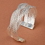 Pentru femei Brățări Bangle Brățări Bantă Design Unic La modă costum de bijuterii plaited de Mireasă Aliaj Flower Shape Bijuterii Pentru