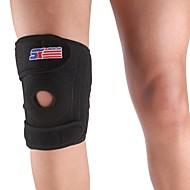 levne Sportovní potřeby-Sportovní Nastavitelný 4-jaro Support Brace Cap noha Knee Wrap Protector Pad - Free Size