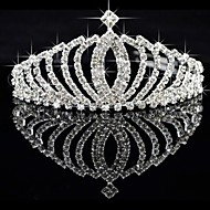 cheap Tiaras-Alloy Tiaras 1 Wedding Special Occasion Headpiece