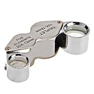 10X en 20X Juwelier Loep Vergrootglas Dual Vergrootglas