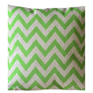 cheap Throw Pillows-Ever Green Wave Stripe Decorative Pillow with Insert