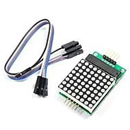 max7219 red dot matrix modul s 5-DuPont linek pro (pro Arduino) (pracuje s oficiálními (pro Arduino) desky)