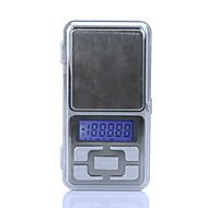 Alta Precisão Mini Eletrônica Digital Escala de Bolso Jóias Pesando balança portátil 500g/0.1g