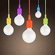 sl® mini anheng, en lys, moderne minimalistisk silikon godteri farger