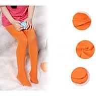 tanie Akcesoria dla dzieci-Skarpety i Pończochy - Dla dziewczynek - Wiosna Jesień - Bawełna Black Orange Purple Niebieski Różowy