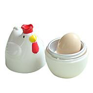 csirke alakú fehér gyakorlati csirke mikrohullámú tojásfőzőt orvvadász kazán forraljuk gőzös otthoni konyhai eszközök