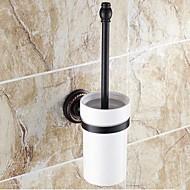 Tuvalet Fırçası Tutacağı / Yağlanmış Bronz Seramik /Geleneksel