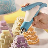 billige Bakeredskap-Bakeware verktøy Rustfritt Stål / Plast Økovennlig Kake / Pai / Sjokolade Dekorasjonsverktøy 1pc