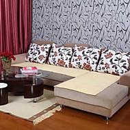 billige Hjemmetekstiler-elaine ren bomull gul sofa pute 333915