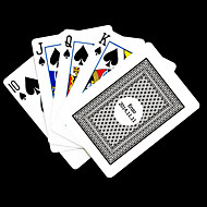 cheap Customized Novelties-Personalized Gift Gray Check Pattern Playing Card for Poker