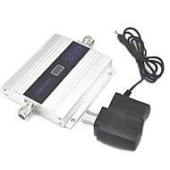 abordables -écran lcd mini-gsm 900MHz amplificateur de signal de téléphone mobile, amplificateur de signal GSM + adaptateur d'alimentation