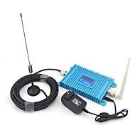 abordables -écran lcd cdma 850MHz téléphone mobile amplificateur de signal de cdma980 signal booster + antenne intérieure d'antenne + ventouse avec câble 10m