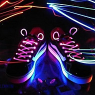 Light Up LED Luminous Shoeslace 1 Pair Pack (More Colors)