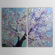 ieftine Artist - L.Gill-Pictat manual Peisaj Două Panouri Canava Hang-pictate pictură în ulei For Pagina de decorare