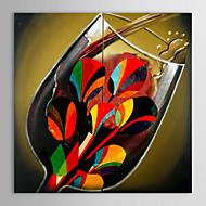 preiswerte Artist - L.Jason-Handgemalte Stillleben Segeltuch Hang-Ölgemälde Haus Dekoration Ein Panel